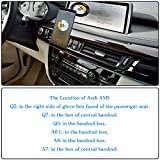 HUIRID Audi USB Aux Adapter Cable, 2 in 1 Music