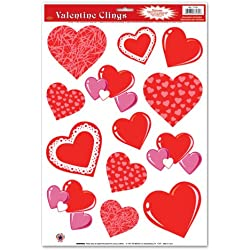 Heart Clings Party Accessory (1 count) (13/Sh)