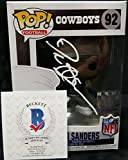 DEION SANDERS Autographed DALLAS COWBOYS Funko