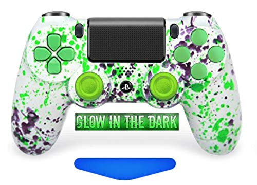 Alien Blood PS4 PRO Rapid Fire Custom Modded Controller 40 Mods (Glow in The Dark) (CUH-ZCT2U) ... (The Best Modded Controllers)