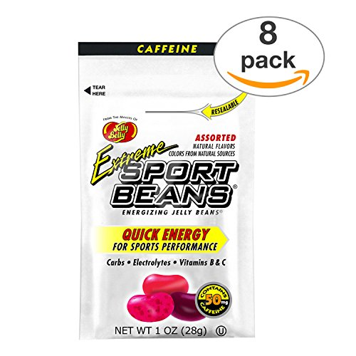 Jelly Belly Sport Beans with Caffeine  Extreme Assorted Spor