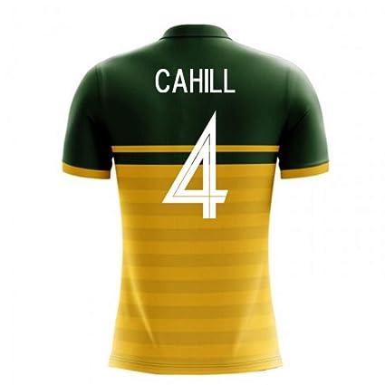 b8d33405c4d Amazon.com : 2018-19 Australia Airo Concept Home Football Soccer T-Shirt  Jersey (Tim Cahill 4) - Kids : Sports & Outdoors