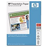HP Soft Gloss Presentation Laser Paper (200 Sheets, 8.5 x 11 Inches), Office Central