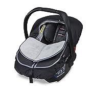 Britax B-Warm Insulated Infant Car Seat Cover, Polar Mist