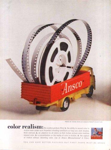 Ansco Color Film (Ansco Film Color Realism ad 1961 Irving Penn)