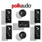 Polk Audio 265LS 7.0-Ch Vanishing Series in-Wall/in-Ceiling Home Theater System (265-LS + 255C-LS + 80F/X-LS)