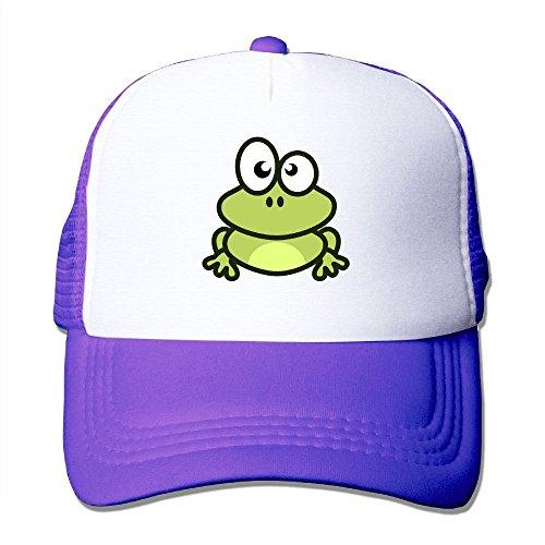 Price comparison product image Anraglan Cute Frog Unisex Baseball Trucker Hat Cap Purple