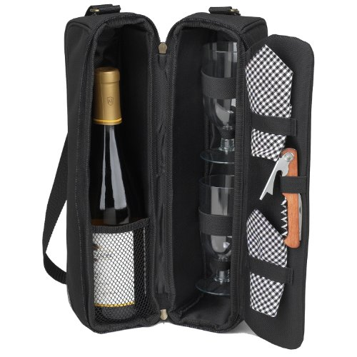 Picnic Ascot Insulated Glasses Corkscrew product image