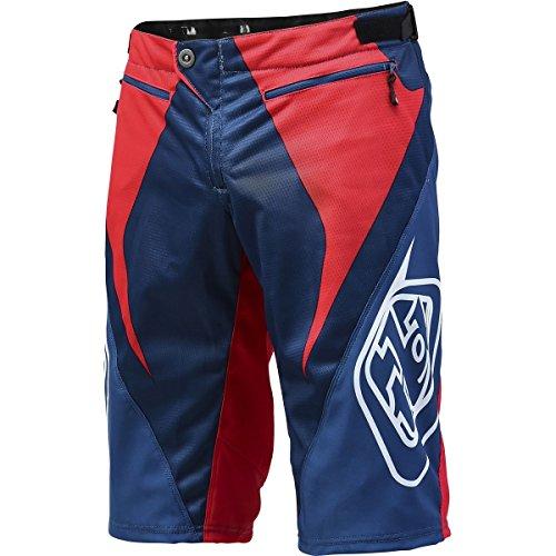 (Troy Lee Designs Sprint Reflex Men's Bike Sports BMX Shorts - Red/White/Blue/Size 36)