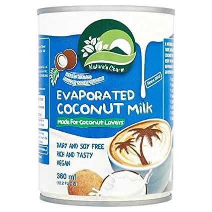 Nature S Charm Evaporated Coconut Milk 360ml Amazon De Lebensmittel Getranke
