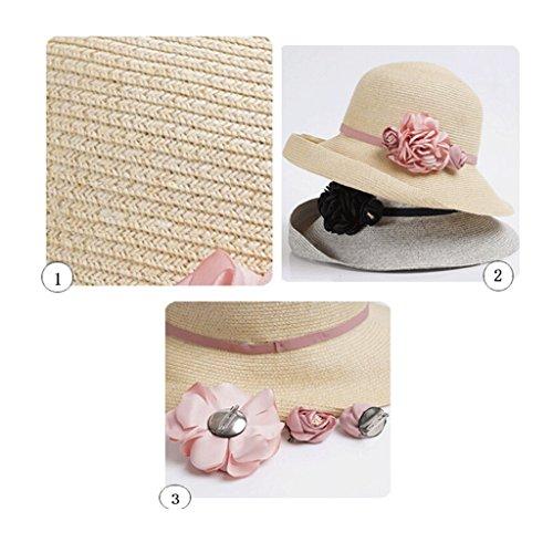 Cappello Femminile Grey All'aperto Light Estate Spiaggia Sole Viaggi Ed Zhaoshunli Primavera TwwqrIZ