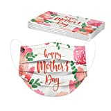 AIHOU Disposable Masks for Women, Mother's Day