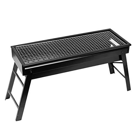 Xing Hua home Barbacoa De Carbón Mini Grill Estante Portátil ...