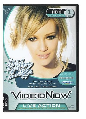 Videonow Personal Video Disc: On The Road with Hilary Duff by Hasbro (Image #1)