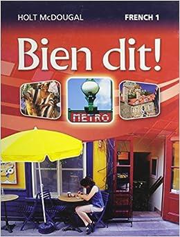 Amazon.com: Bien dit!: Student Edition Level 1 2013 (French ...