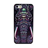 Iphone 5 case,iphone 5S case,Let it be Free New Hard case cover protective bumper for iphone 5 5S-Elephant Tooth