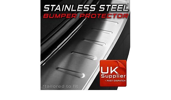 Suzuki SX4 S-Cross a partir de 2013 Bumper Protector de pantalla/trasera/relieve/de acero inoxidable pulido: Amazon.es: Coche y moto
