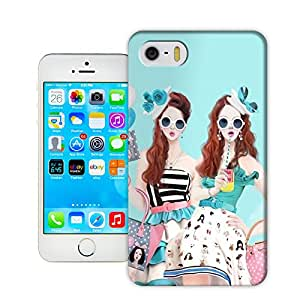 Fashion girls 3D TPU Hard Case Cover for Apple iphone 5/5s