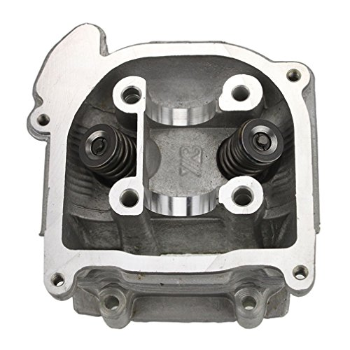 - GOOFIT Cylinder Head with Valve for 4 Stroke GY6 49cc 50cc Scooter Moped 139QMA 139QMB Engine Part
