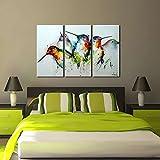 ARTLAND Modern 100% Hand Painted Framed Wall Art