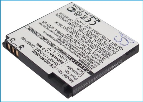 Cameron Sino 900mAh/3.3Wh Replacement Battery for HTC Touch Diamond