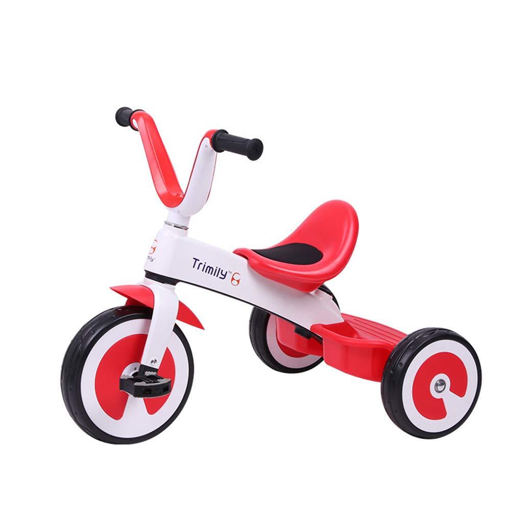 ペダル三輪車子供キッズスマートデザイン3ウィーラー三輪車用キッズ、トライクイージーとポータブル  a B07SHGV1HR