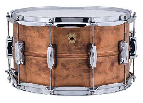 Ludwig Copper Phonic Snare Drum, 14 x8 in. by Ludwig