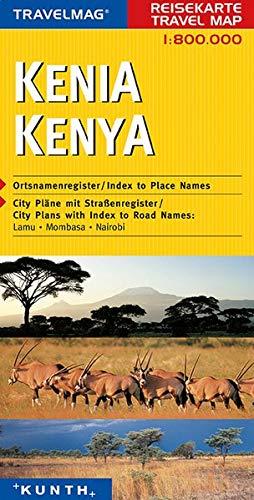 Reisekarte : Kenia