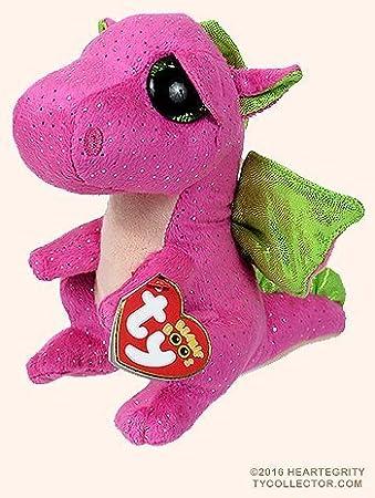 Amazon Com New Ty Beanie Boos Cute Darla The Dragon Plush Toys 6