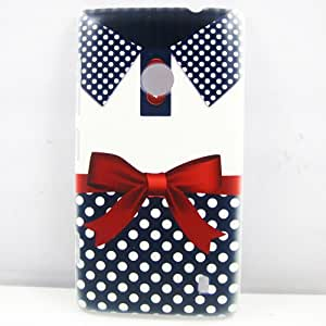 for nokia lumi 520,New Fashion Blue Dot Bowknot Clothes Skirt Hard Patterned Case Cover Skin For Nokia Lumia 520