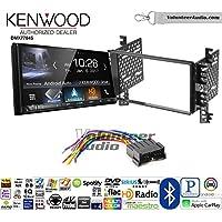 Volunteer Audio Kenwood DMX7704S Double Din Radio Install Kit with Apple CarPlay Android Auto Bluetooth Fits 2001-2006 Hyundai Elantra