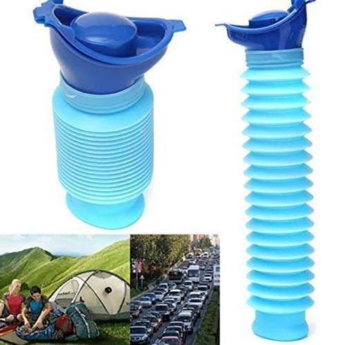 Euone  Urinal Clearance , Portable Travel Male Female Reusable Camping Car Pee Urinal Urine Toilet
