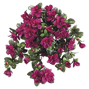 Artificial Cerise (Fuchsia) 24-inch Azalea Trailing Bush (Set of 6) 51