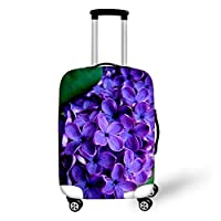 HUGS IDEA Vintage Luggage Suitcase Protective Cover for 18-30 Inch