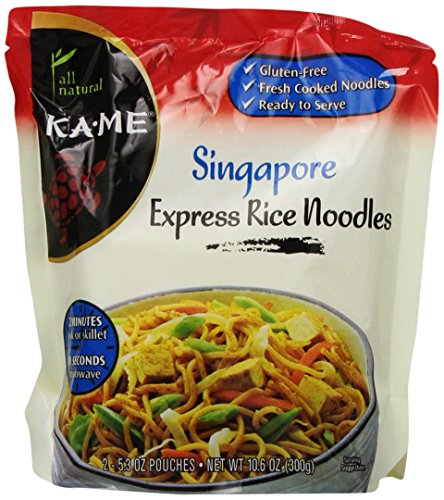 KaMe Express Rice Noodles Singapore 106 Ounce Pack of 6