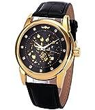 Winner Analogue Gold Dial Men's Watch -M114