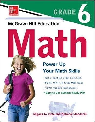 Amazon.com: McGraw-Hill Education Math Grade 6 (Test Prep ...