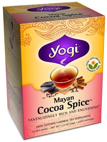 YOGI TEA,OG3,MAYAN COCOA SPICE, 16 BAG