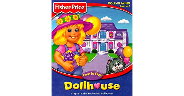 Amazon Com Fisher Price Time To Play Dollhouse Pc Video Games
