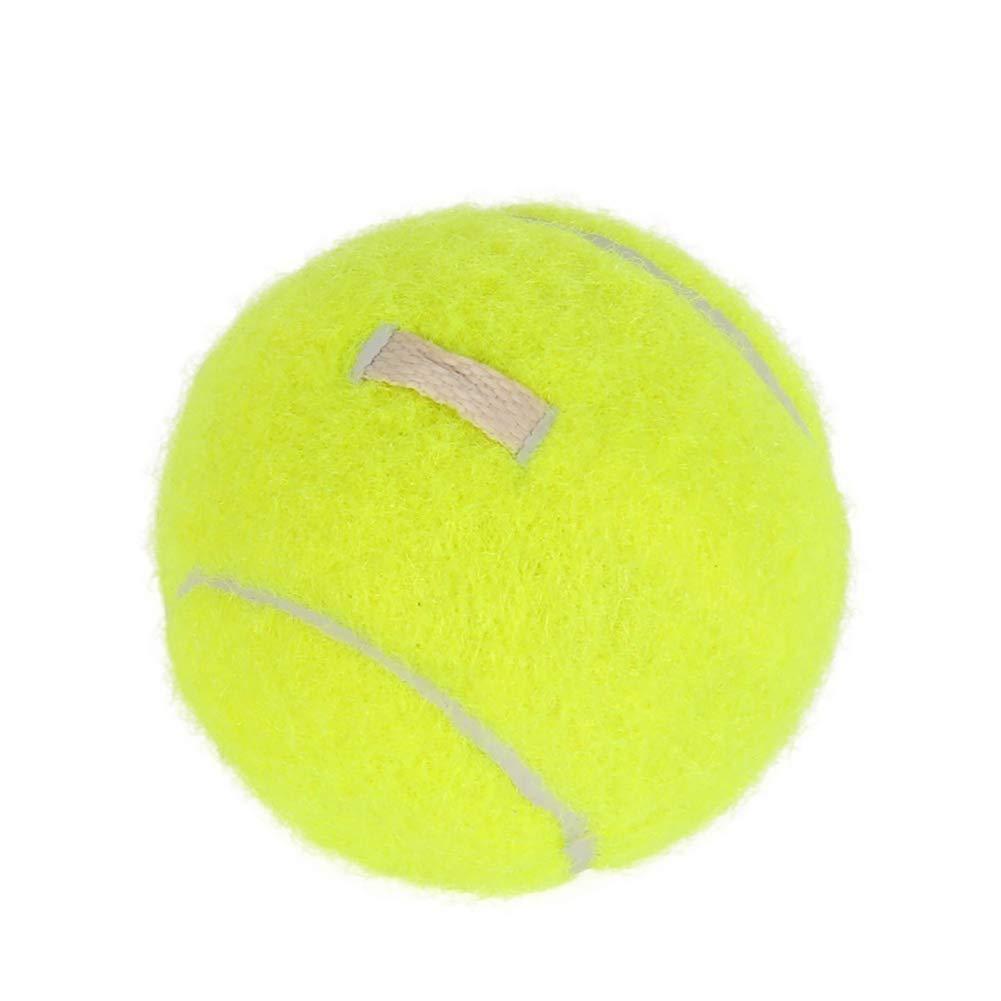 pushfocourag Elastic Rubber Band Tennis Ball Single Practice Training Belt Line Cord Tool Single training with elastic rope tennis