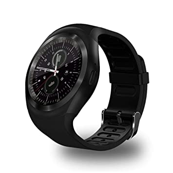 Lunir Fashion Casual Round Touch Screen Smart Sport Watch for Android Smart Watches