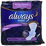 Always Extra Heavy Overnight Maxi Pads with