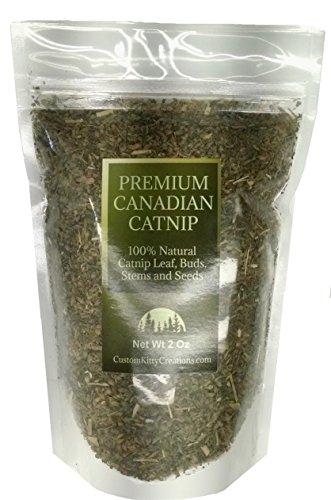 West Coast Pet Products Catnip 2 oz (Coarse) Fresh Premium Canadian Catnip/Cat Nip Treat