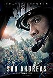 "San Andreas Movie Poster 24 x 36"" Inches , Glossy Finish (Thick): Dwayne Johnson, Alexandra Daddario, Carla Gugino"