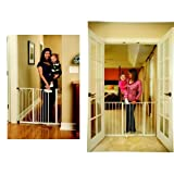 Baby : Regalo Easy Step Walk Thru Gate and Easy Open 50 Inch Super Wide Walk Thru Gate