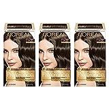 L'Oréal Paris Superior Preference Permanent Hair Color, 5A Ash Brown, 3 Count