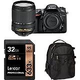 Nikon D7200 DX-Format DSLR Camera with 18-140mm Lens Accessory Bundle