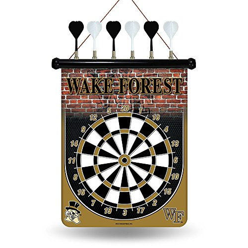 NCAA Wake Forest Demon Deacons Magnetic Dart Board Magnetic Dartboard Nfl Darts