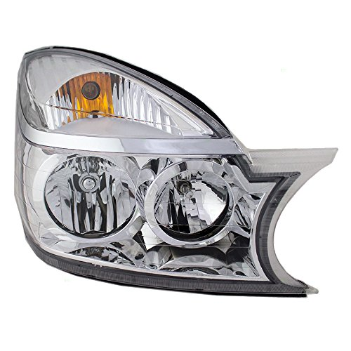 Passengers Halogen Headlight Headlamp Replacement for 04-07 Buick Rendezvous 10342802 15144696 AutoAndArt