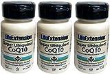 Life Extension Super Ubiquinol Coq10 with Enhanced Mitochondrial, 100 Mg, (Pck 3)